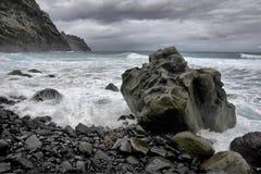 Coast of Tenerife Royalty Free Stock Photos