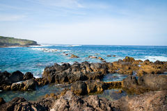 Coast of Tenerife daytime Royalty Free Stock Photo