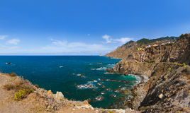 Coast in Tenerife island - Canary Spain Stock Image