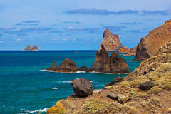 Coast in Tenerife island - Canary Spain Stock Photography