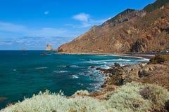 Coast in Tenerife island - Canary Spain Stock Photography