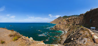 Coast in Tenerife island - Canary Spain Stock Image