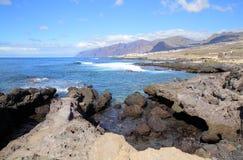 Coast of Tenerife Island Stock Photography