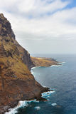 Coast of Tenerife near Punto Teno Lighthouse Royalty Free Stock Photos