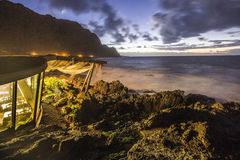 Coast of Teneriffe Stock Images