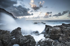 Coast of Teneriffe Royalty Free Stock Images