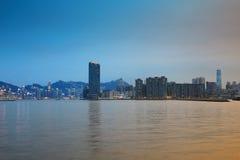 The coast at To Kwa Wan Stock Images