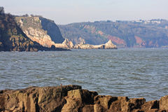 Coast of Torquay Stock Images