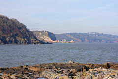 Coast of Torquay Royalty Free Stock Photo