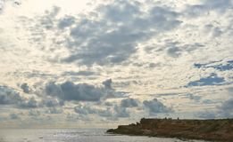 Coast of Torrevieja city. Costa Blanca Royalty Free Stock Images