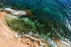 Coast of Torrevieja. Stock Image
