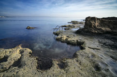 Coast of Torrevieja, Spain Stock Images