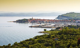 Coast town Izola Stock Photos