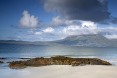 Coast at Tully Cross, Connemara National Park, County Galway Stock Image