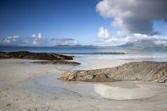 Coast at Tully Cross, Connemara National Park Stock Photography