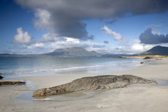 Coast at Tully Cross, Connemara National Park, County Galway Stock Images