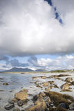 Coast at Tully Cross, Connemara National Park, County Galway Royalty Free Stock Photography