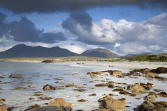 Coast at Tully Cross, Connemara National Park Royalty Free Stock Image