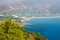 Coast of Turkey Royalty Free Stock Image