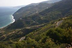 Coast ucmakdere Highway, Turkey Stock Photos