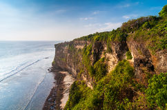 Coast at Uluwatu temple Stock Photography