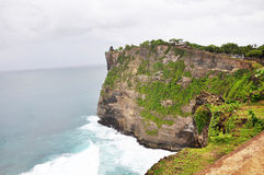 Coast at Uluwatu temple Royalty Free Stock Photography