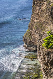 Coast at Uluwatu temple, Bali, Indonesia. Royalty Free Stock Images
