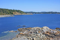 Coast of Vancouver Island Stock Photography