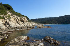 Coast from the Var, france Royalty Free Stock Photography