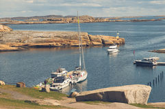 Coast at Verdens Ende, Norway Royalty Free Stock Images