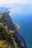 Coast. View from Cape Cobe on the coastline. Island Madeira Stock Photography