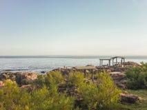 Coast View of Piriapolis Royalty Free Stock Photos