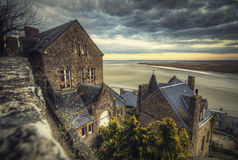 Coast Views from Mont Saint Michel Royalty Free Stock Photo