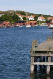 Coast village royalty free stock photo