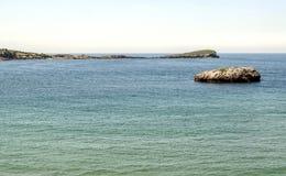 Coast of Vizcaya Stock Photo