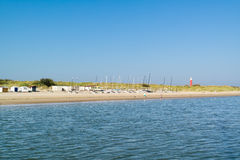 Coast of Waddensea island Texel, Netherlands Stock Photos