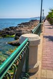 Coast Walking Royalty Free Stock Photos