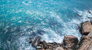 Coast and water Royalty Free Stock Photography