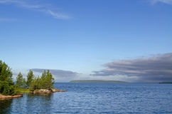 Coast of the White sea Stock Photo