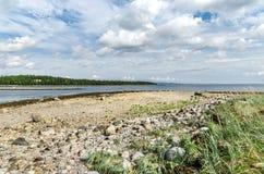Coast of the White sea Royalty Free Stock Photos