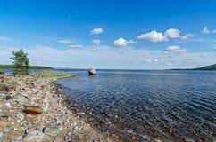 Coast of the White sea Royalty Free Stock Photography