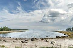 Coast of the White sea Stock Photography