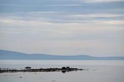 Coast of the White sea Royalty Free Stock Image