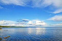 Coast of the White sea Stock Image