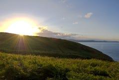 Coast of Wicklow, Ireland Royalty Free Stock Photos