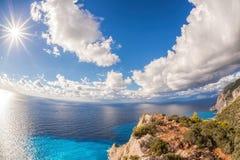 Coast of Zakynthos island in Greece Stock Photos