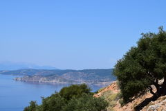 Coasta de pe de Maslini Photo stock