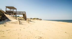 Coastal access to the beach Stock Images