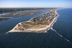 Coastal aerial. royalty free stock images