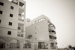 Coastal apartments in Israel. Ashkelon Stock Images